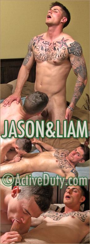 Jason and Liam