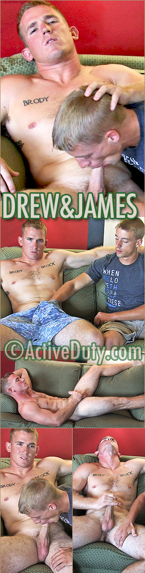 Drew and James